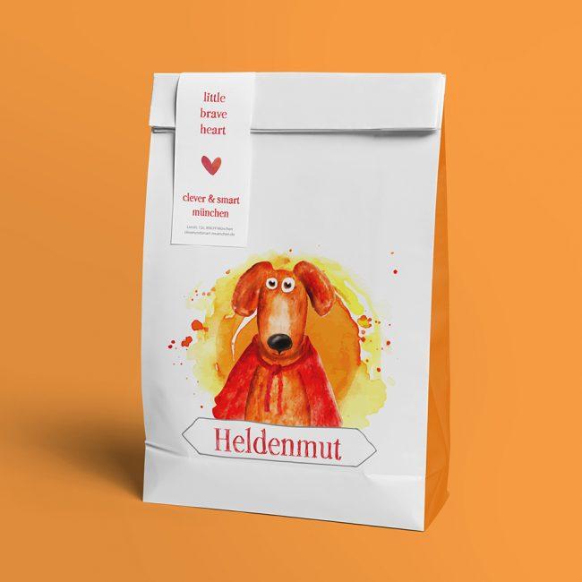 Heldenmut Shopping Bag Design